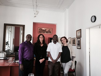 Penplusbytes Pay Courtesy Call on IPI Executive Director