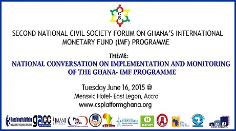 Penplusbytes Participates in Civil Society Forum on Ghana's IMF Bailout Programme
