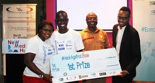 Winners of Penplusbytes #HackAgainstEbola Represent Ghana at 2015 GEN SUMMIT