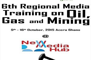 Penplusbytes, NRGI holds 6th Regional Media Training on Extractives