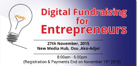 Penplusbytes to Train Entrepreneurs on Digital Fundraising