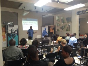 Penplusbytes showcase Transformative Governance project using tech at global event