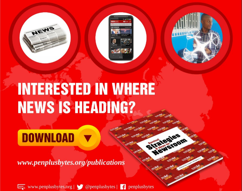 Penplusbytes Launches new book; Survival Strategies and Ideas for Newsroom