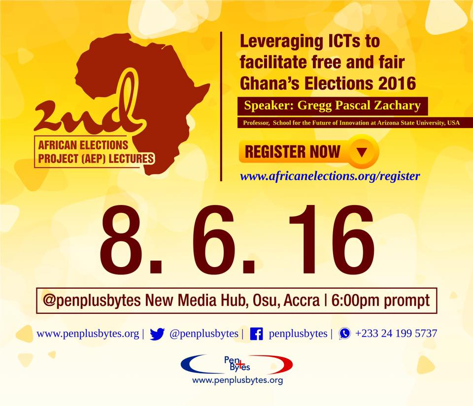 Leveraging ICTs to Facilitate Free & Fair Ghana 2016 elections