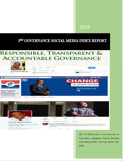 3RD GOVERNANCE SOCIAL MEDIA INDEX REPORT