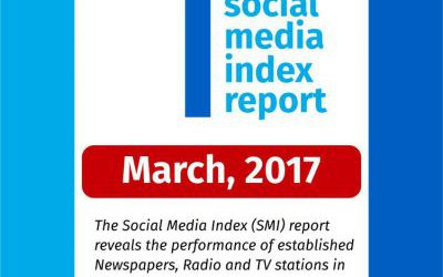 1st Quarter Social Media Index Report – March 2017