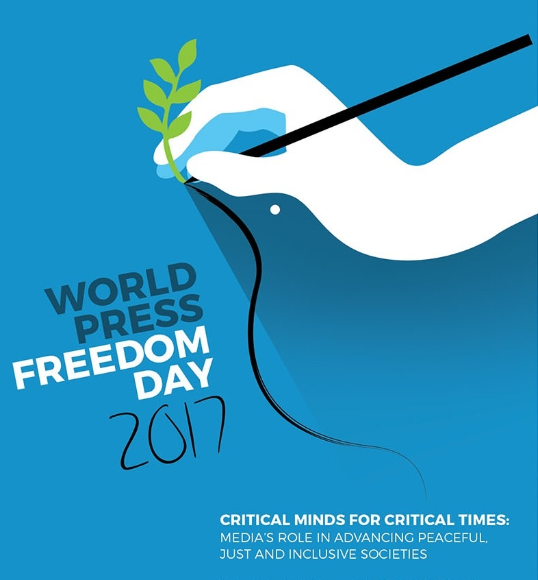 Promoting justice for all as world marks Press Freedom Day 2017