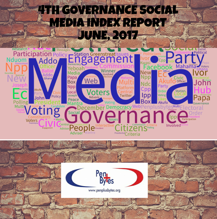 4TH GOVERNANCE SOCIAL MEDIA INDEX REPORT