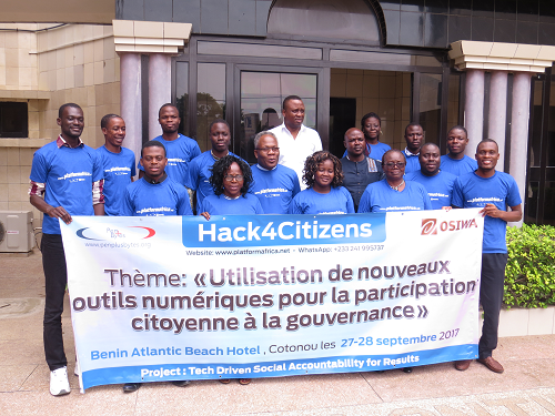 "Penplusbytes' ""Hack4Citizens"" first day in Cotonou Successful"