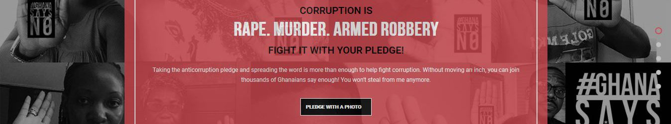 Corruption is Rape- New anti-corruption campaign launched