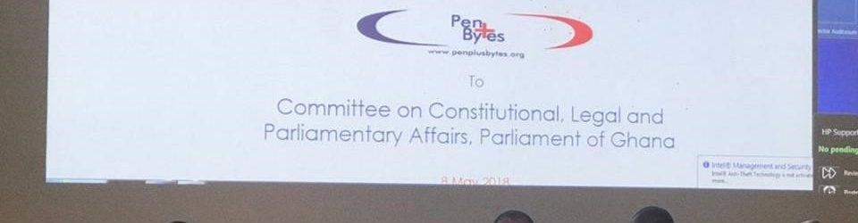 Penplusbytes Submits Contribution to RTI Bill