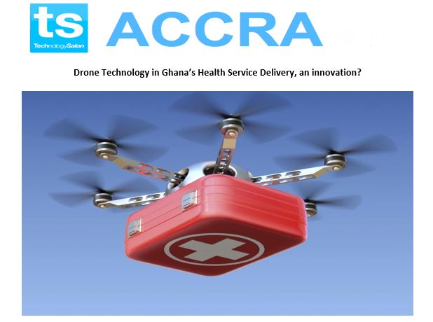 "RSVP Now: January Technology Salon on ""Drone Technology in Ghana's Health Service Delivery, an innovation?"""