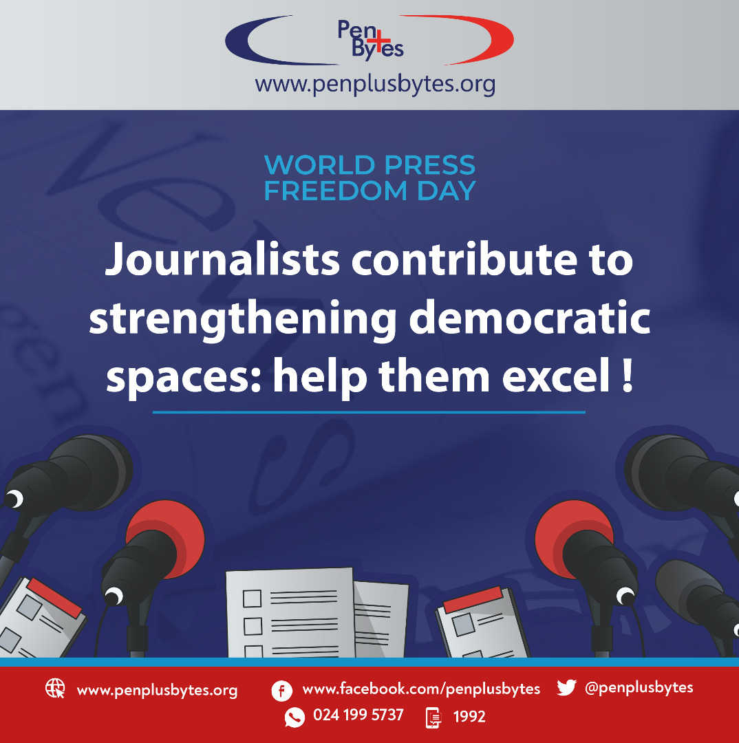 Journalists contribute to strengthening democratic space: help them excel!