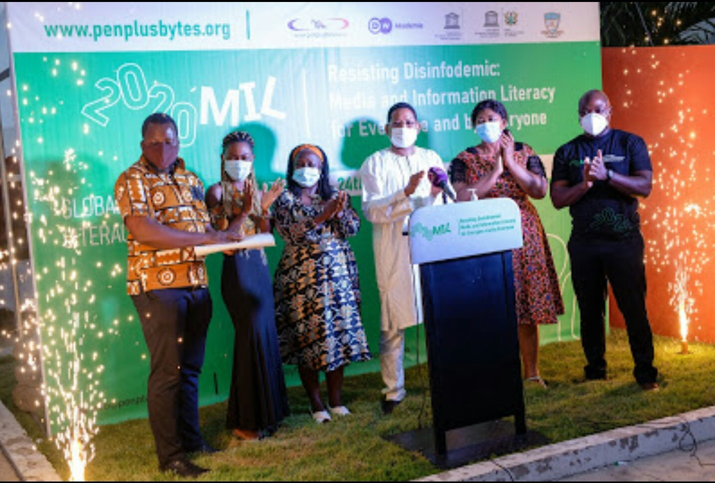 Penplusbytes leads partners to mark 2020 Global Media and Information Literacy week in Ghana
